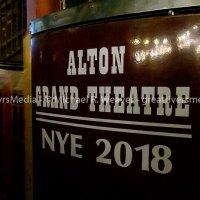 Original theater ticket booth
