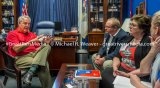 Representative John Shimkus discusses mental health care issues in his Washington D.C. office.