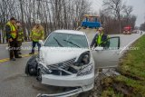 Head-On Crash Near Brussels Ferry Injures Two