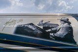 Mickey Gilley bus graphic