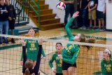Southwestern Girls Win Against Gillespie In Three Sets