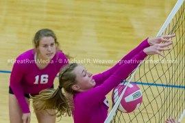 Greenfield Northwestern Dominates North Greene On Volleyball Court