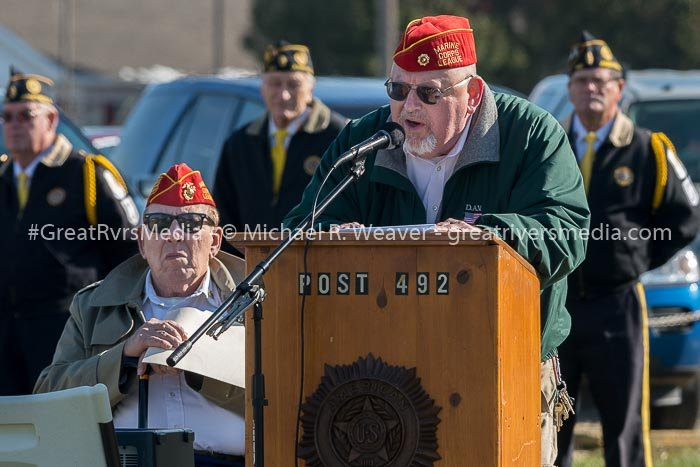 Jerseyville Legion Honors Veterans