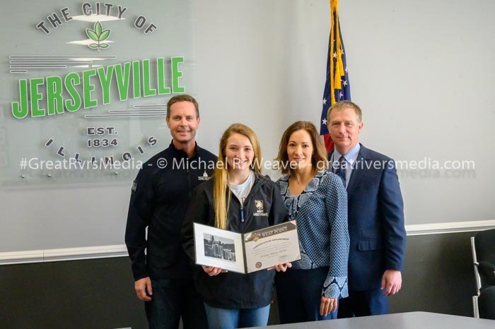 Jersey Senior Brooke Tuttle Receives Military Academy Appointment