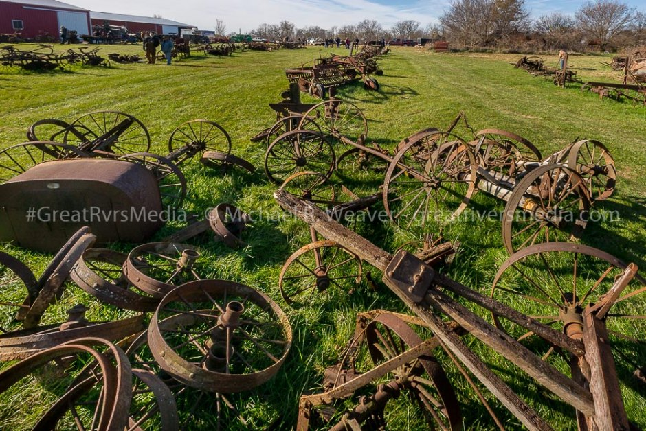 Hazel Dell Auction Sells Rare Farm Equipment