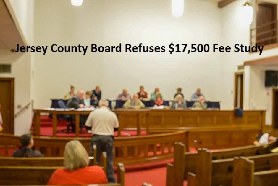 Jersey County Board Doesn't Engage Bellwether for $17,500 Fee Study