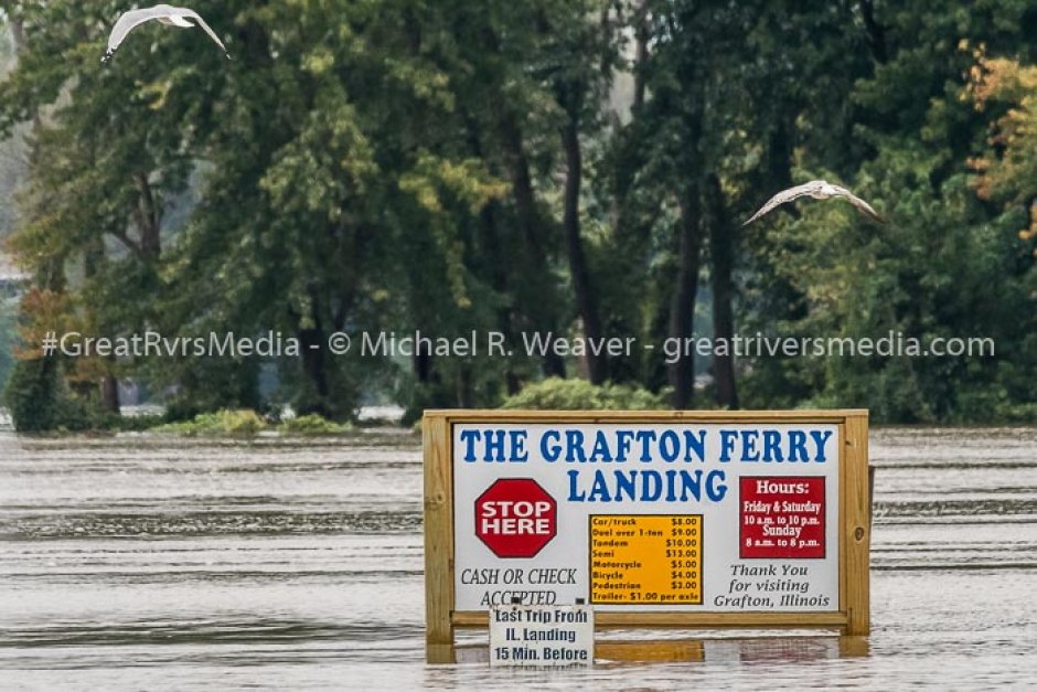 Area Flooding Closing Roads and Ferries