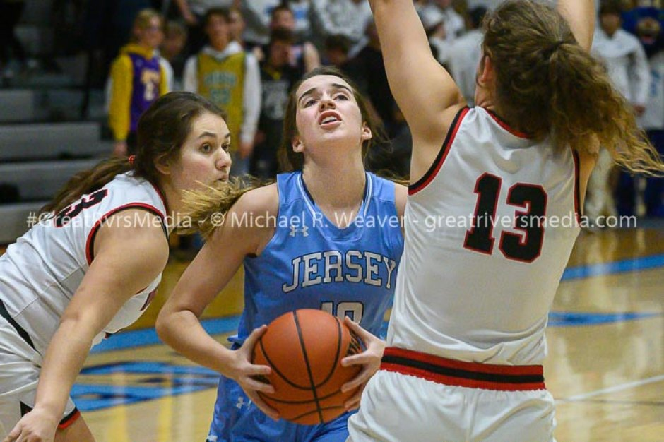 Highland Continues On As Jersey Ends Girls Basketball Season Thursday Evening